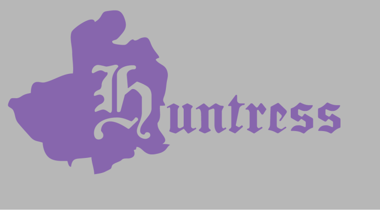 An image states, Huntress.