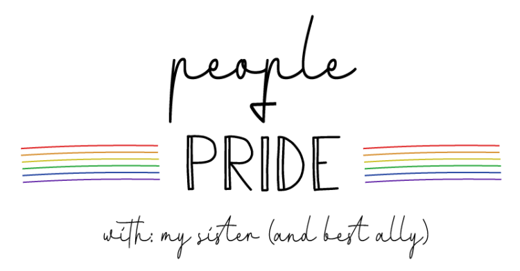 The image title states, people and pride with my sister and best ally.