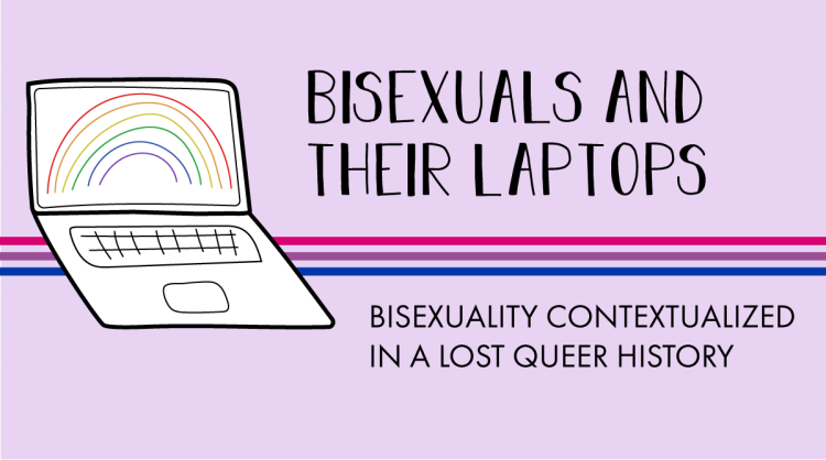 The AL&HL logo includes the following title. Bisexuals and their laptops: bisexuality contextualized in a lost queer history.